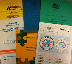 image of documents from the ISASI collection
