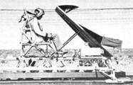 sled used for crash deceleration tests